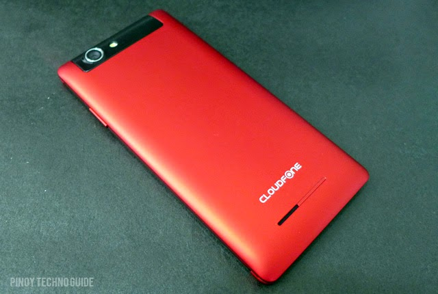 CloudFone 451q red back