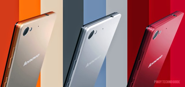 Color options for the Lenovo Vibe X2