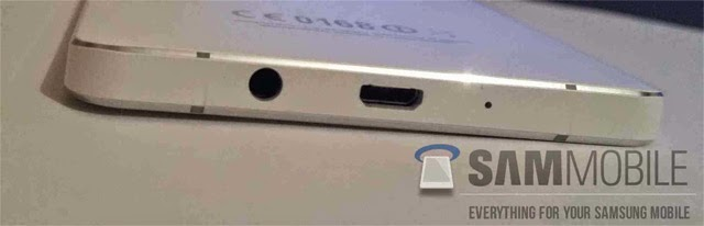 Samsung Galaxy A5 looks like iPhone