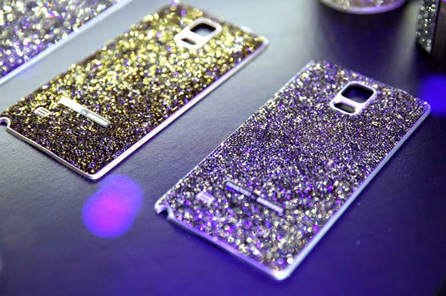 Samsung Galaxy Note 4 back Cover with Swarovski Crystals