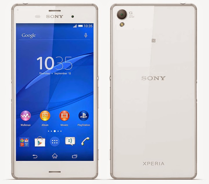 Sony Xperia Z3 Now Official - Full Specs and Features ...