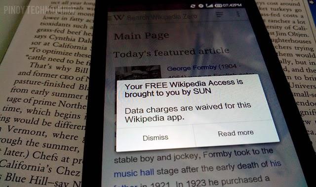 Free Wikipedia Access