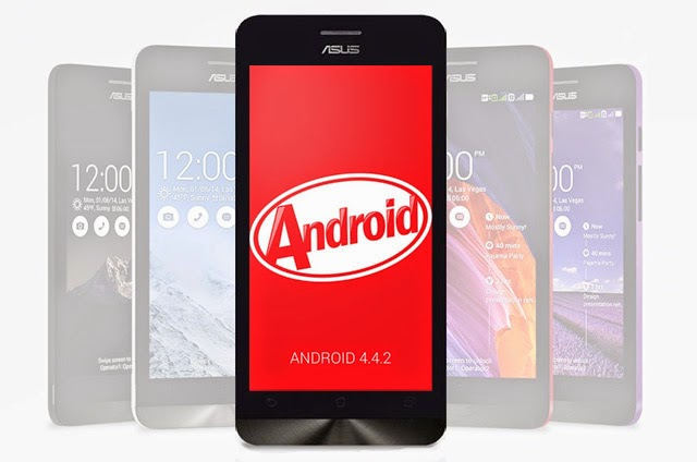 Asus Zenfone 4, 5 and 6 Gets Android 4.4 Kitkat Official Update