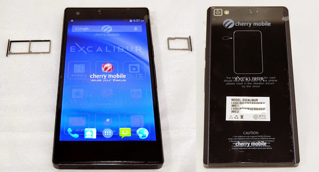 Cherry Mobile Excalibur Front and Back Gorilla Glass SIM Tray