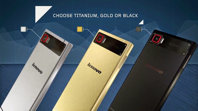 Lenovo Vibe Z2 Pro in gold, titanium and black