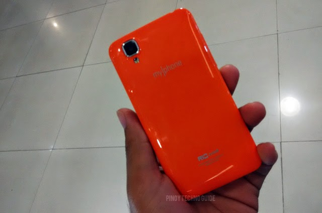 MyPhone Rio Junior back