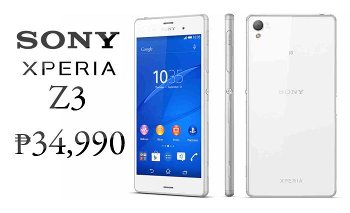 Sony-Xperia-Z3-Price-Philippines