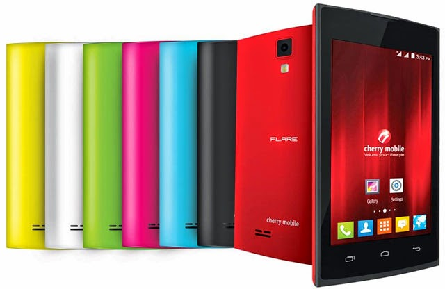 Cherry Mobile Flare Lite available colors