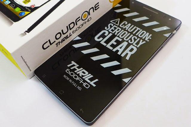 CloudFone Thrill 600 FHD Unboxing