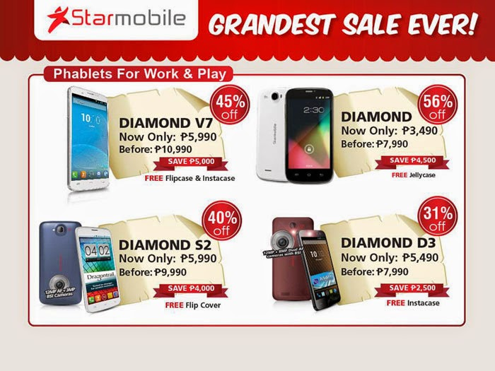 Huge Sale for Starmobile Smartphones and Tablets