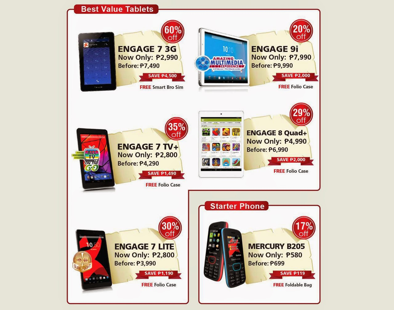 Huge Sale for Starmobile Smartphones and Tablets – Save Up to ...