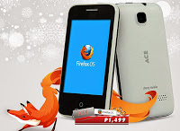 Cherry Mobile Ace with Firefox OS