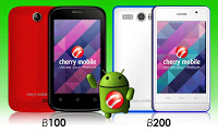 Cherry Mobile B100 and B200