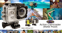 CD-R King Waterproof Action Camera