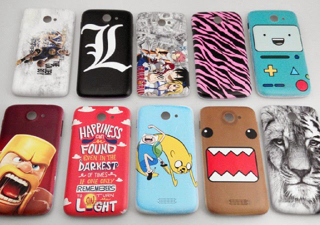 These are customized back covers for Me smartphones.
