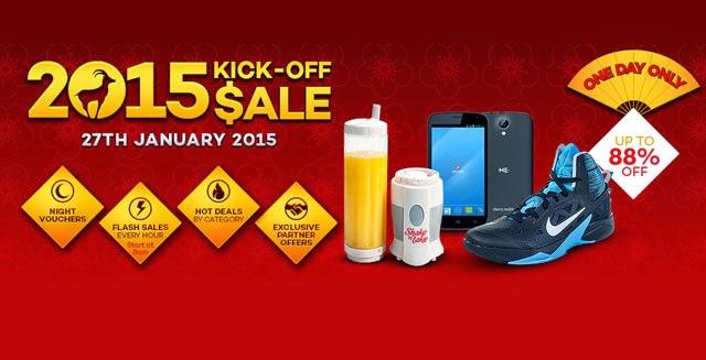 Lazada 2015 Kick-Off Sale