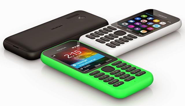 Nokia 215 color options