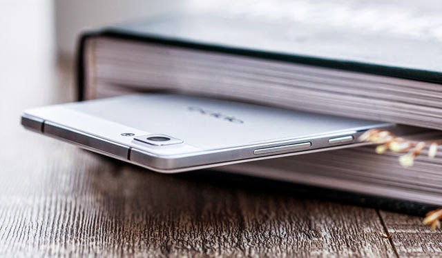 very thin Oppo R5