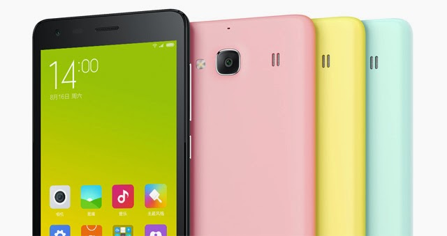 Xiaomi Redmi 2 colors