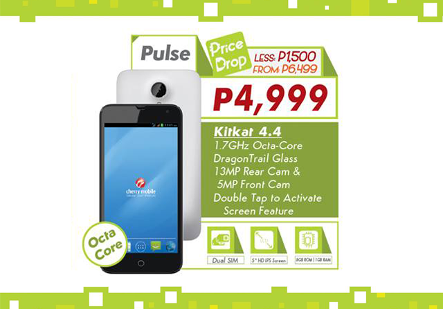 Cherry Mobile Pulse price drop
