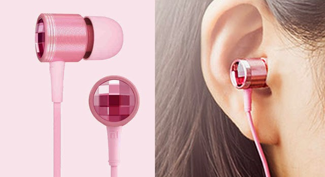 Crystal-Pink-Mi-In-Ear-Earphones