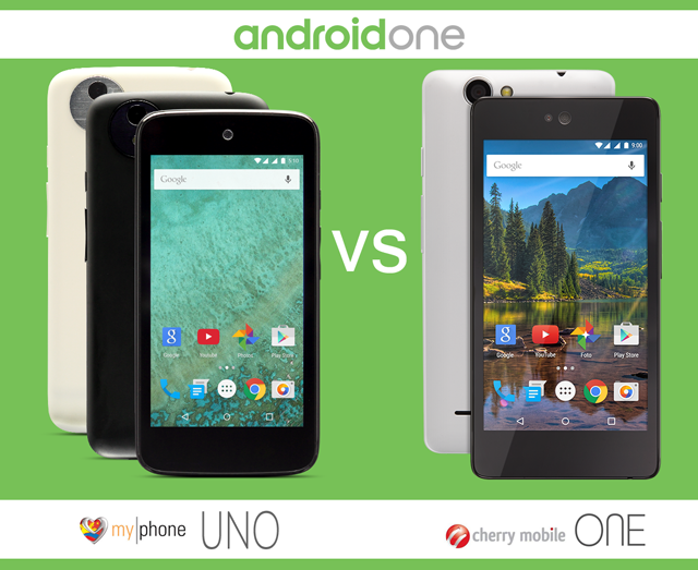 MyPhone Uno vs Cherry Mobile One