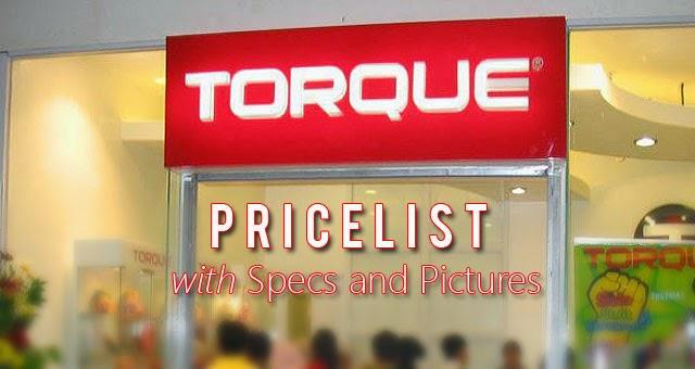 Torque Pricelist