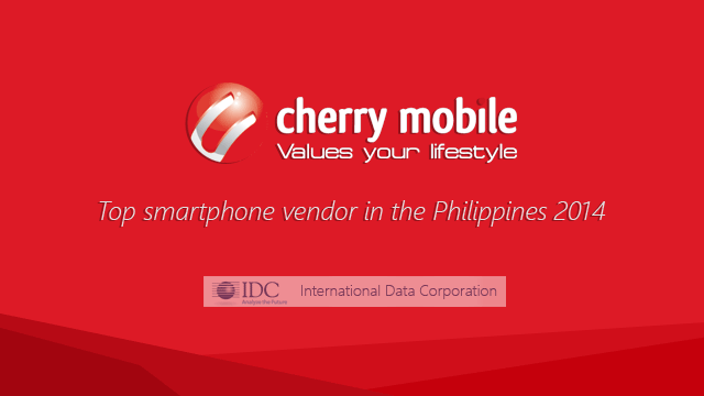 Cherry Mobile is the Top Smartphone Vendor in the Philippines for 2014
