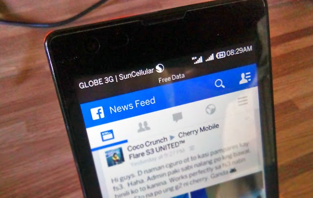 Globe Extends Free Facebook Promo