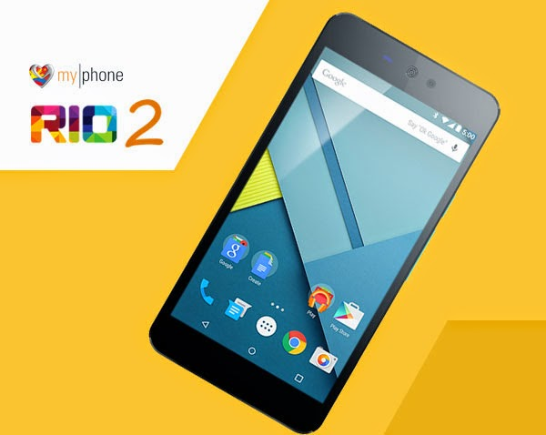 MyPhone Rio 2 with Lollipop OS