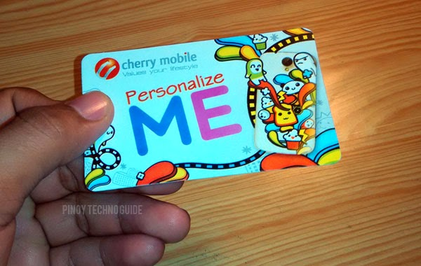 Cherry Mobile Me Vibe Personalize Me card