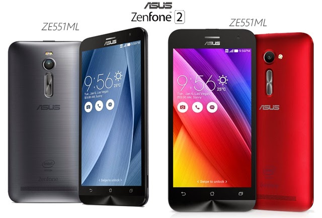 Official Asus Zenfone 2 Models in the Philippines