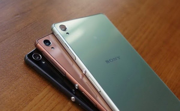 Sony Xperia Z4 color options