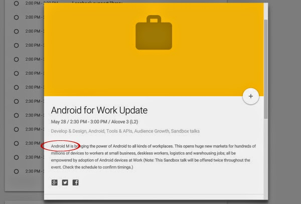 Android-M-Google-IO