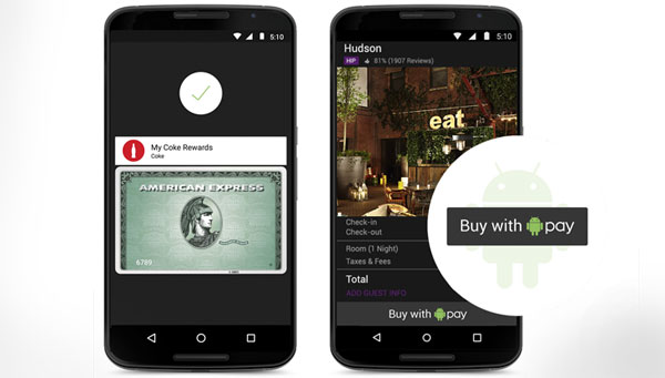Android Pay in action