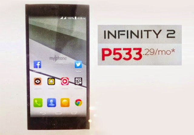 MyPhone Infinity 2 leaked poster