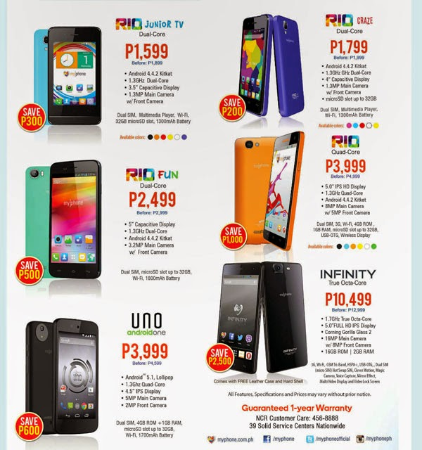 MyPhone Nationwide Sale Price List 2