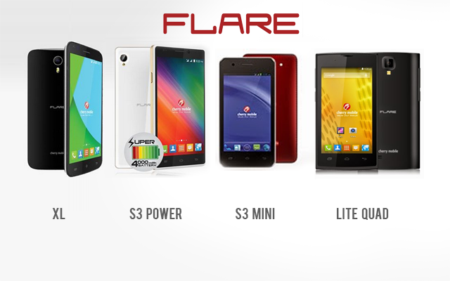 New Cherry Mobile Flare smartphones