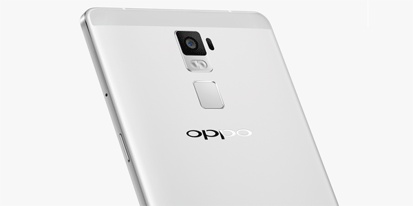 Oppo R7 Plus back finger print sensor
