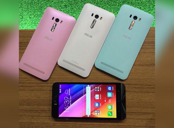 Asus Zenfone Selfie color options