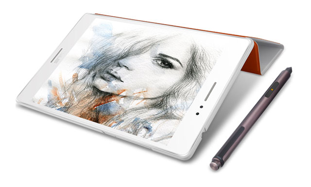 ASUS ZenPad S 8.0 with TriCover and Z Stylus