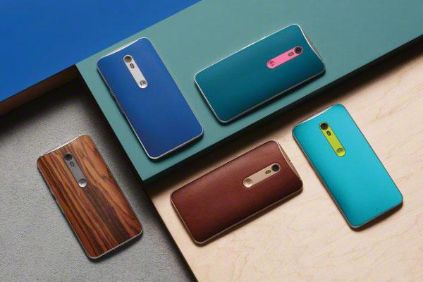 Motorola Moto X Style color options