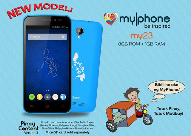MyPhone-My23