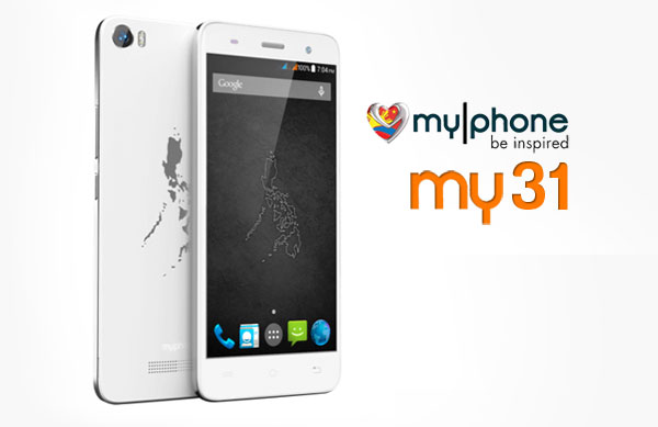 725a51309 MyPhone My31 Now Official – Complete Specs