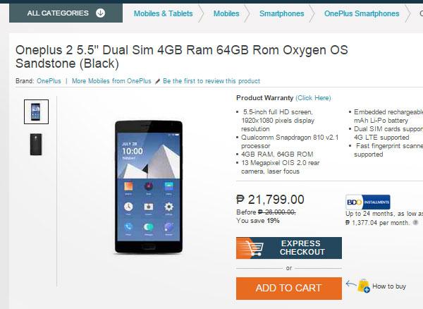 OnePlus-2-Lazada-Philippines