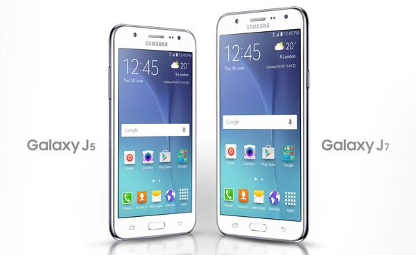 Samsung Galaxy J7 vs J5
