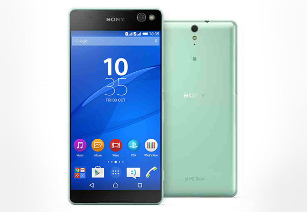 Selfie-Centric Sony Xperia C5 Ultra Has Back To Back 13MP