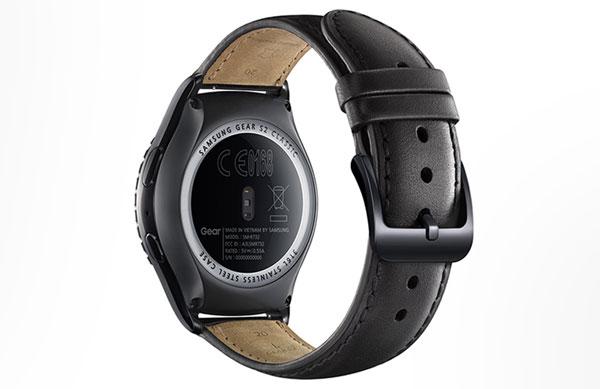 Samsung Gear S2 Classic underside