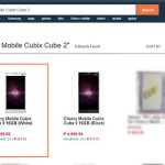 Cherry Mobile Cubix Cube 2 Now Listed on Lazada Philippines – Specs, Picture and Price Revealed
