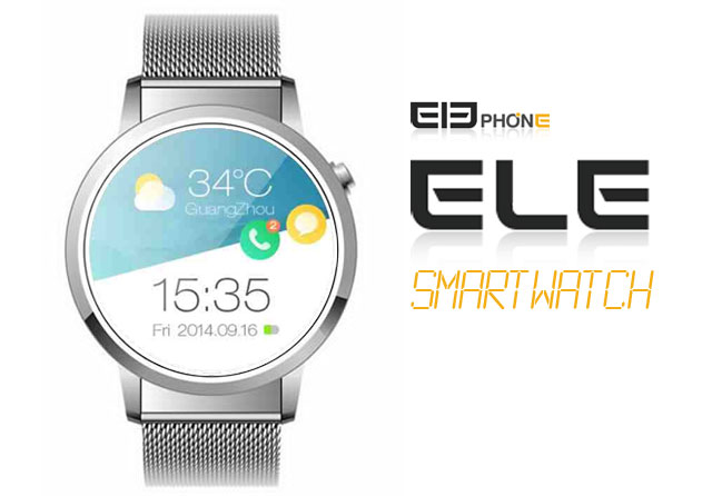 Elephone Ele is a ₱5000 Android Wear Smartwatch with ...
